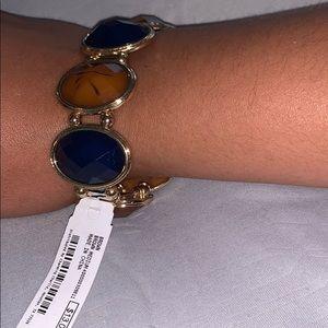 bracelet brown and blue